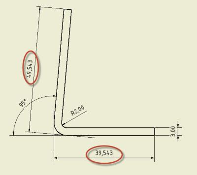 Calculul lungimii desfasurate pentru unghiuri de indoire mai mari de 90º